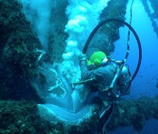 Diver Cleaning Node