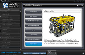SubNet ROV Familiarisation Introductory Course Screenshot