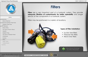 screenshot Hydraulic Filters for ROV